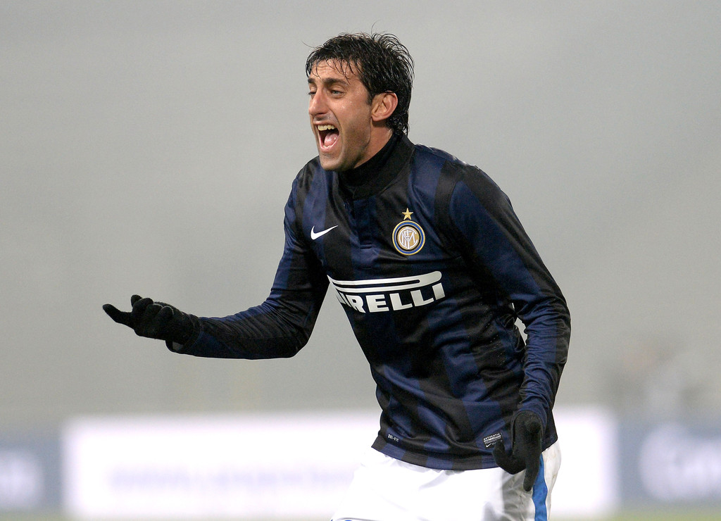 Milito and Palacio to start versus Genoa?