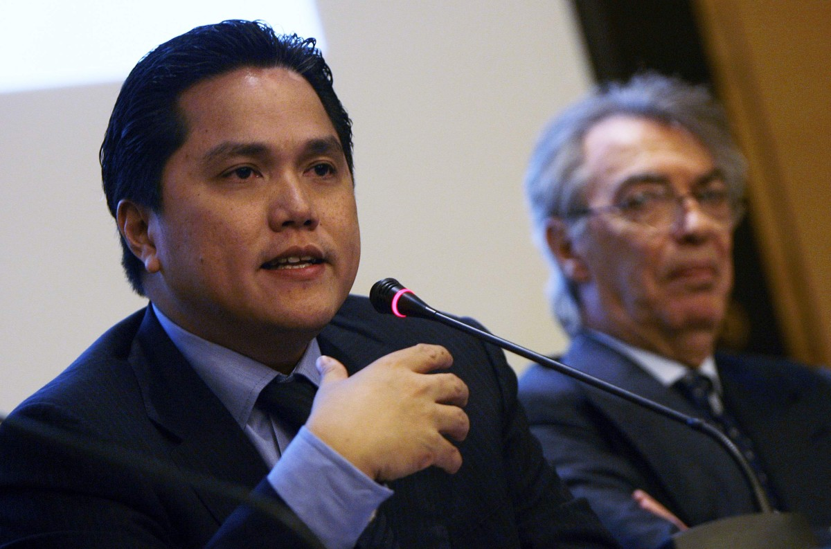 "Thohir: ""Working with Moratti to grow the club"""
